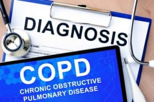 COPD Diagnosis Paperwork