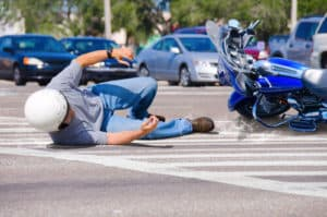 Man injured in motorcycle accident on road in Richmond, VA